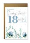 Kartka na 18 osiemnaskę na osiemnaste urodziny (1)