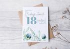 Kartka na 18 osiemnaskę na osiemnaste urodziny (2)