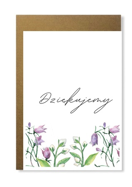 Elegancka kartka na podziękowanie dziękujemy (1)