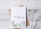 Elegancka kartka na podziękowanie dziękujemy (2)