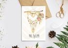 Kartka w stylu boho na urodziny imieniny prezent (2)