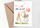 Kartka na urodziny dziecka prezent ze zwierzątkami (2)