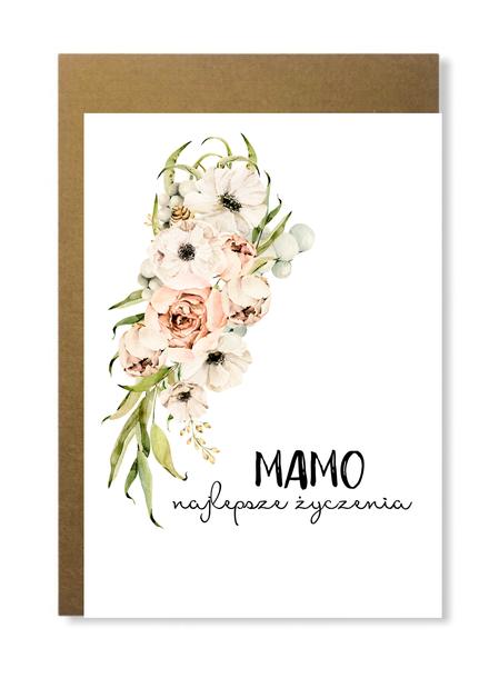 Kartka dla mamy na dzień matki prezent kwiaty (1)