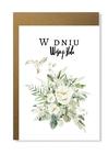 Kartka elegancka na ślub ślubna na prezent wesele (1)