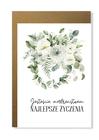 Kartka elegancka na ślub ślubna dla młodej pary (1)