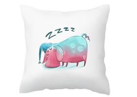 Poszewka na poduszkę ze świnką zabawna na prezent