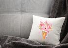 Poszewka dekoracyjna letnia na lato różowa prezent (2)