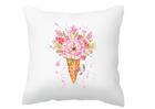 Poszewka dekoracyjna letnia na lato różowa prezent (1)