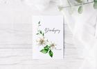 Kartka na podziękowanie na chrzest ślub dziękujemy (2)
