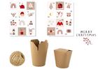Kalendarz adwentowy do zrobienia DIY eko pudełka (1)