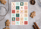 Naklejki świąteczne na kalendarz adwentowy diy (2)