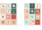 Naklejki świąteczne na kalendarz adwentowy DIY XL (1)