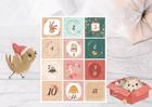 Naklejki świąteczne na kalendarz adwentowy DIY XL (2)