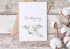 Elegancka kartka na podziękowanie dziękujemy ślub (2)